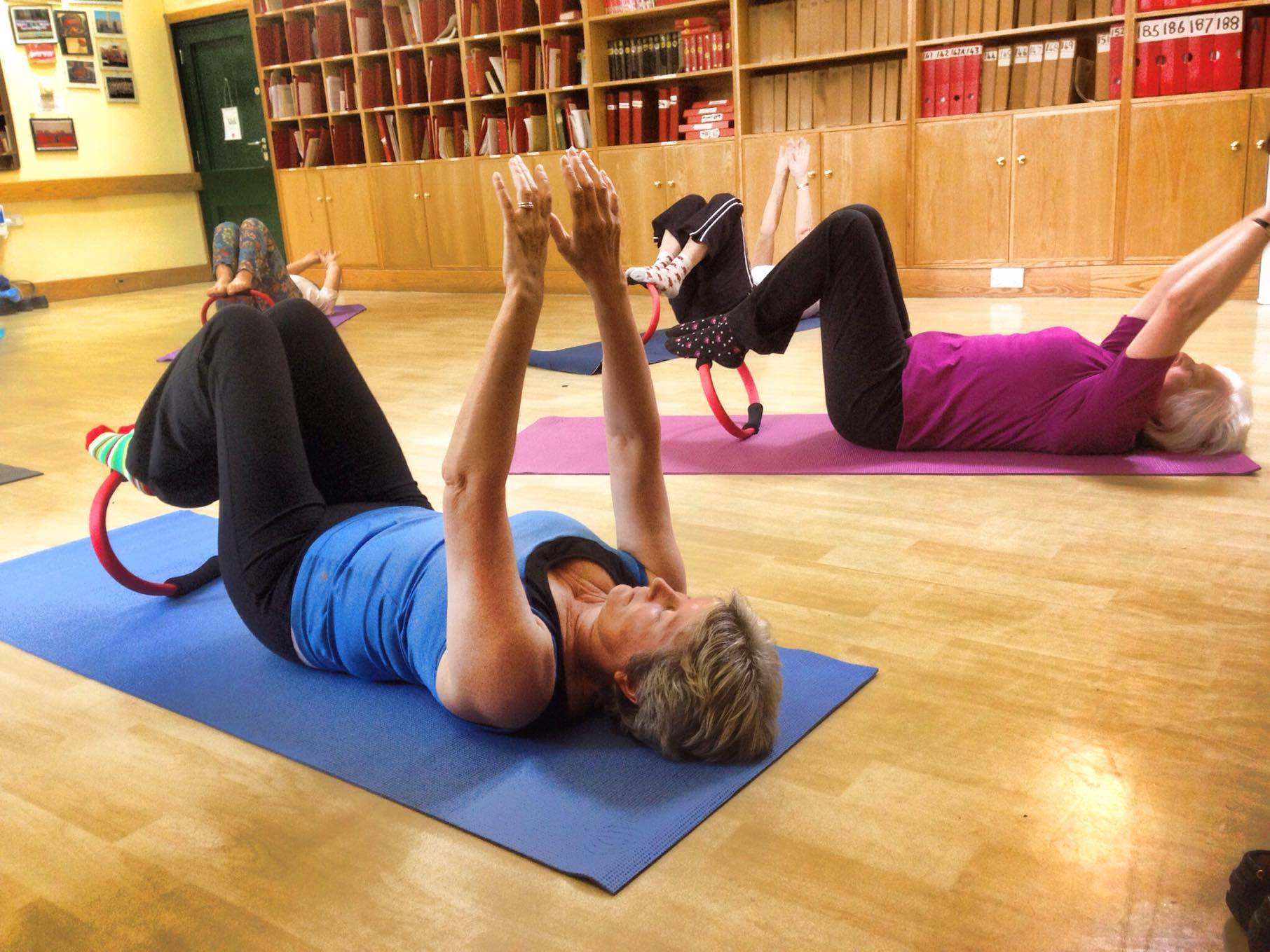 Pilates Classes for all ability levels